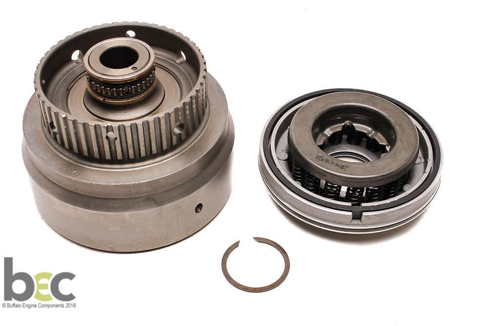 56554EA FORWARD CLUTCH DRUM 5R55E 5 CLUTCH WITH CAGED OUTER BEARING
