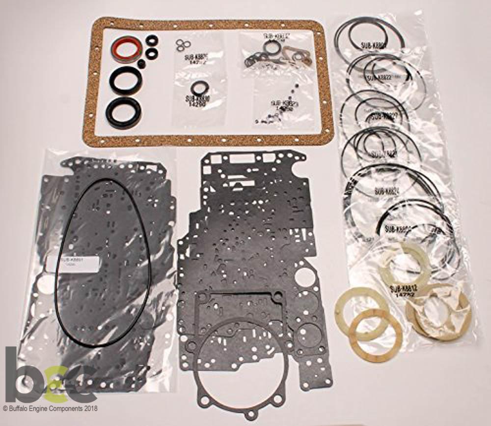 A340e A343f Transmission Master Rebuild Kit For Lexus: Rebuild Kits